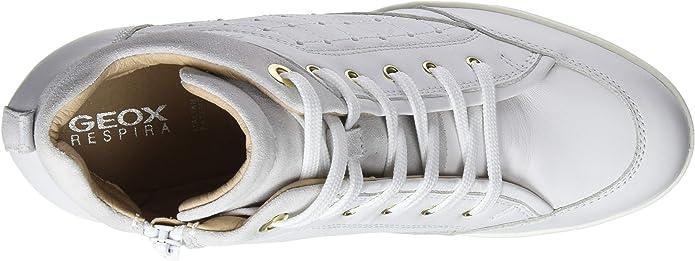 compensación plan de estudios Salida  Amazon.com | Geox Women's D Carum C Hi-Top Trainers | Shoes