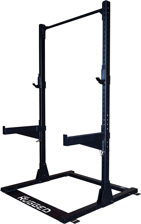 Rugged Commercial Half Rack Y120, 1000 lb Capacity, Heavy-Duty 2 3 11-Gauge Steel