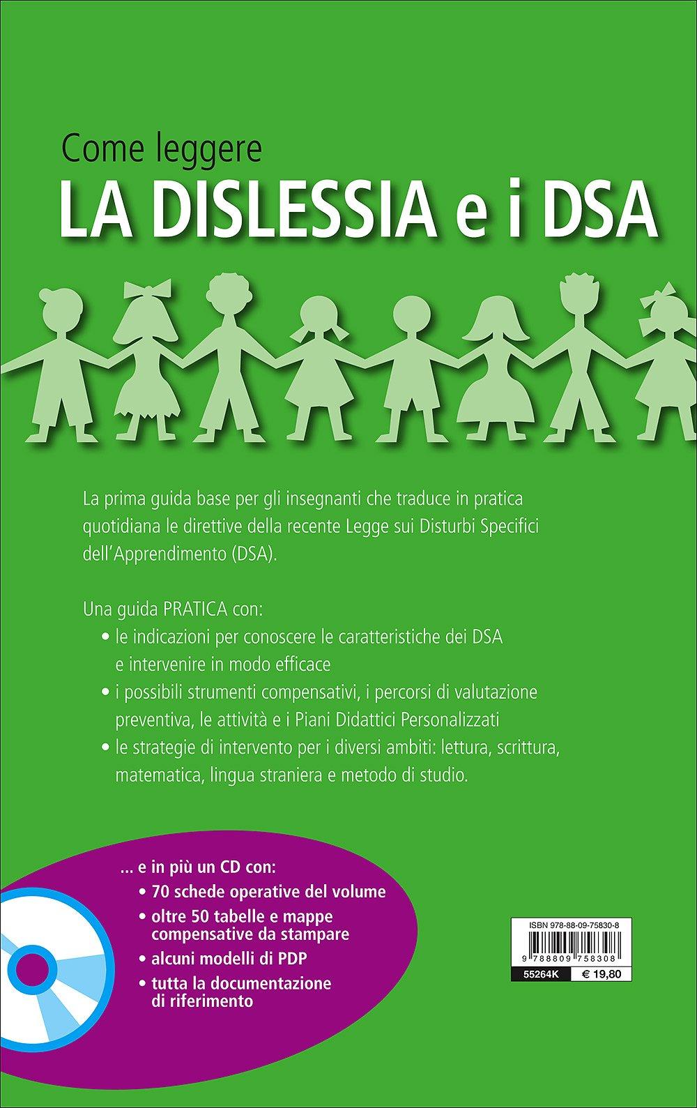 Amazonit Come Leggere La Dislessia E I Dsa Con Cd Audio G