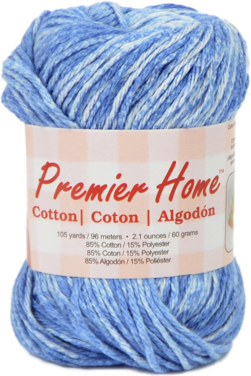 Premier Yarns Home Cotton Yarn - Multi-raindrop Splash