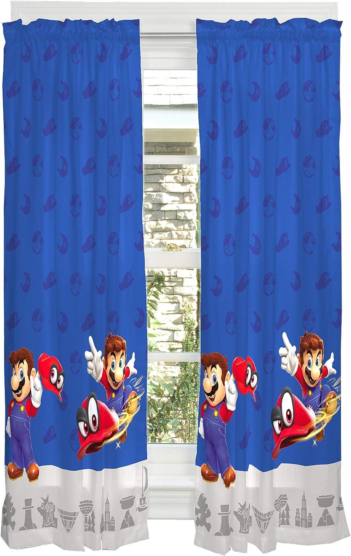 Amazon Com Franco Kids Room Window Curtain Panels Drapes Set 82