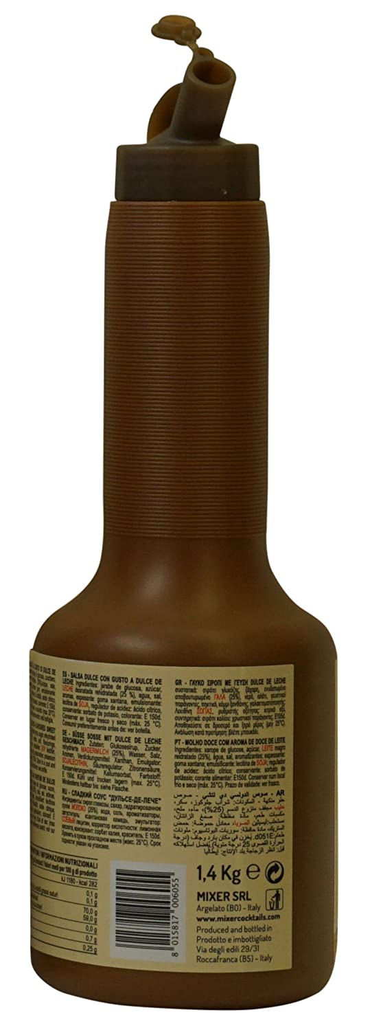 Amazon.com : Mixer : Mou Dulce de Leche My Caramel Groumet Syrup 1400 ml/140 cl : Grocery & Gourmet Food