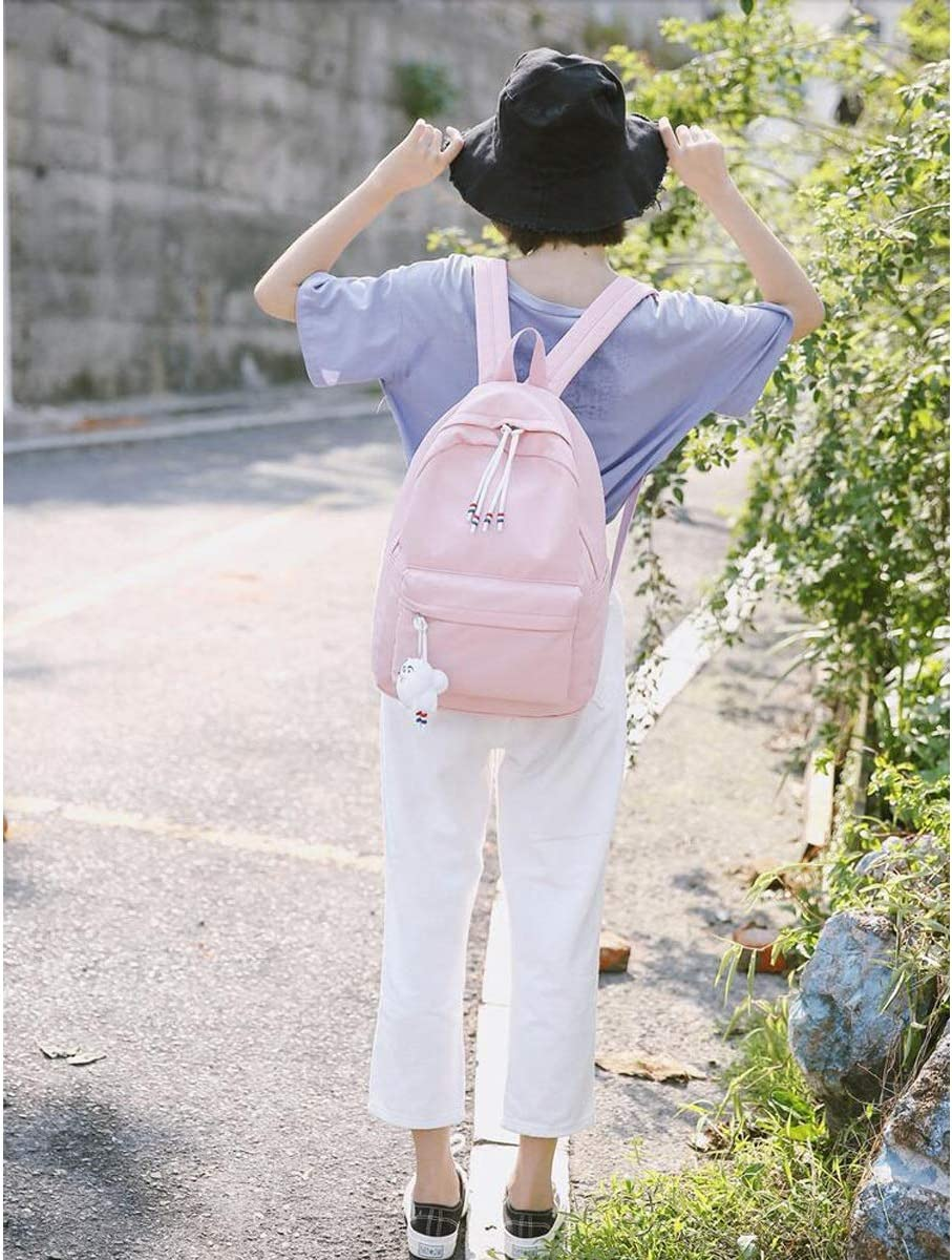 Fresh and Simple Travel School Outdoor Fashion and Leisure Six Colors Hengtongtongxun The Girls Versatile Backpack is Perfect for Everyday Travel 2019 New Work