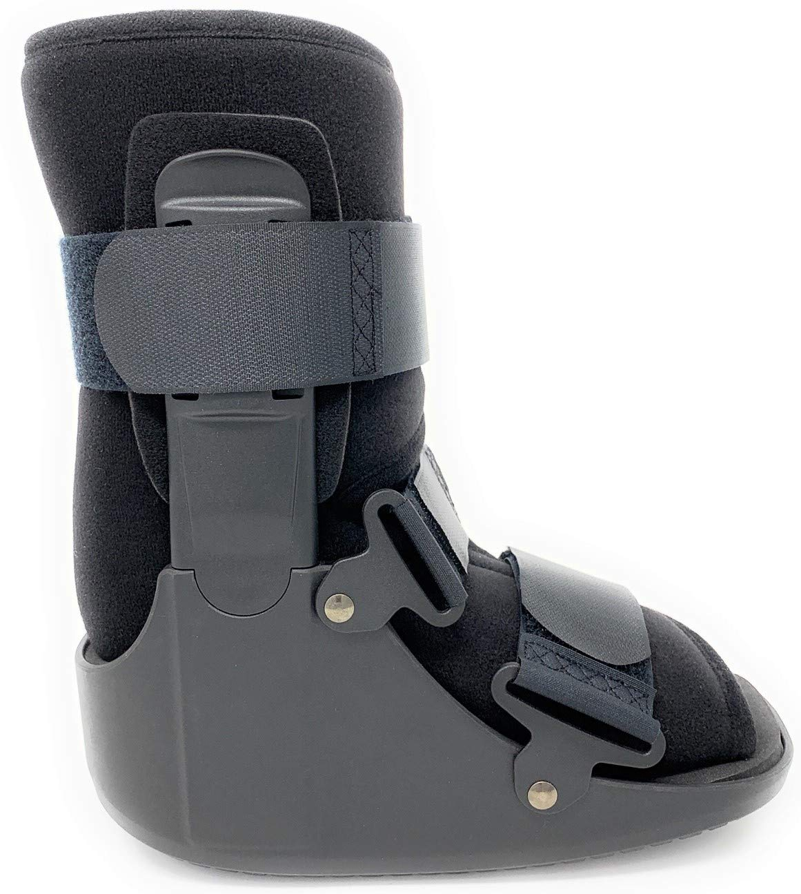 Superior Braces Low Top, Non-Air, Low Profile Medical Orthopedic Walker Boot for Ankle & Foot Injuries (Medium) by SB SUPERIORBRACES