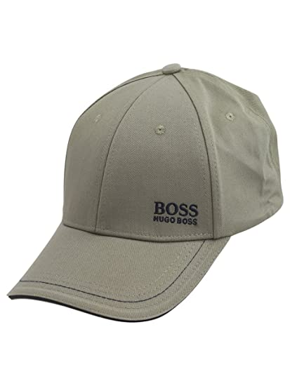Amazon.com  Hugo Boss Cap-1 Open Green Cotton Strapback Baseball Cap Hat  (One Size Fit Most)  Clothing cc405e7f49d