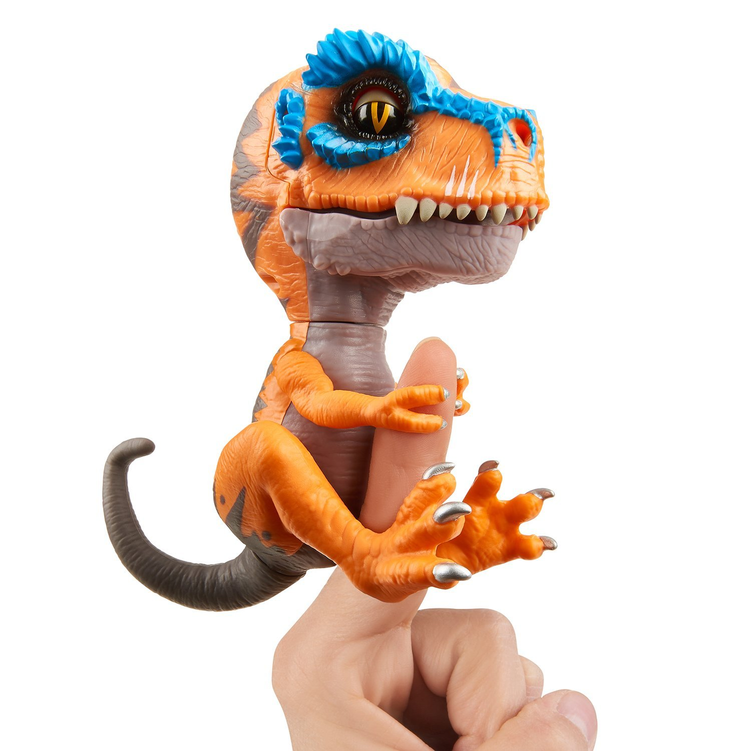 Untamed T-Rex by Fingerlings – Scratch (Orange) - Interactive Collectible  Dinosaur - By WowWee