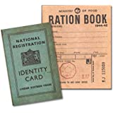 image regarding Ration Book Ww2 Printable identified as Reproduction Junior Ration Guide towards Globe War 2: .british isles