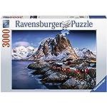 Ravensburger Rompecabezas de 3000 Piezas: Isla Lofoten; Noruega Puzzle