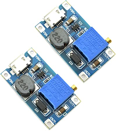 Mini USB to 9V 12V DC-DC Step Up Converter 5V to 12V Power Supply Boost Module