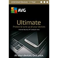 AVG TECHNOLOGIES Protection, Unlimited Devices, 1 Year