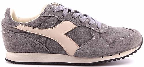 Diadora Heritage Men s Shoes Sneakers Trident S SW Storm Gray Grigio  Vintage New 328e47cae9b
