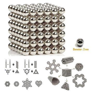 B Un Spielzeug magnética Bolas, Buck Huevos, 3 mm Magia Spielzeug de descompresión para