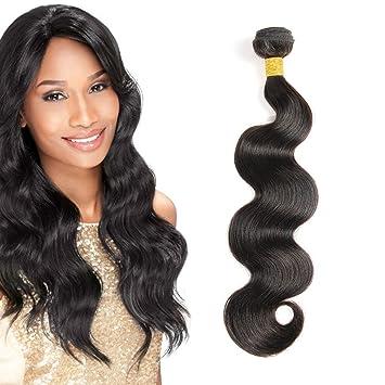 Amazon.com   8A Grade Brazilian Virgin Hair Body Wave Bundles 1 Bundle 100g  Unprocessed Natural Remy Human Hair Weave Extensions (8inch)   Beauty 5ee120c7e