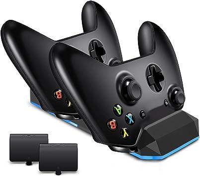 Cargador LREGO Fast Dual para Xbox One/Xbox One S/Xbox One