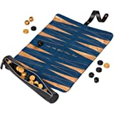 Ted Baker Brogue Backgammon Roll Travel Roll Game