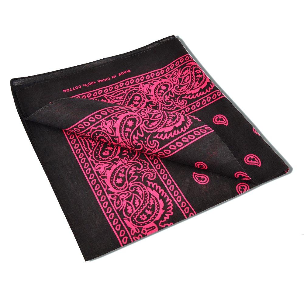 Amazon.com: alotpower algodón Bandanas doble cara Impresión ...