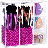 Lifewit Organizer con Cassetti per Cosmetici Beauty Case All in One per Pennelli Rossetti Cipria Smalti con Coperchio