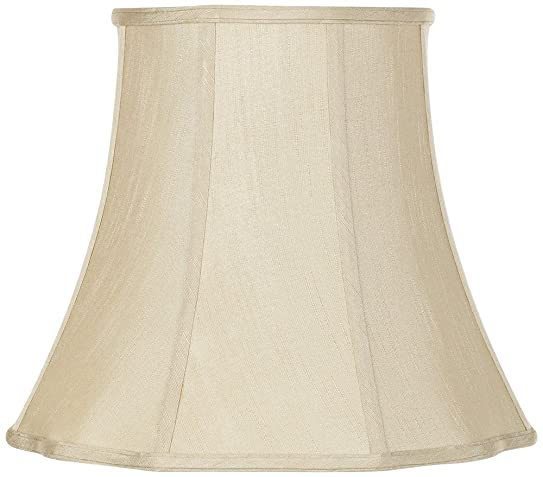 Imperial Taupe Bell Lamp Shade 10x16x14 (Spider) - Lampshades ...