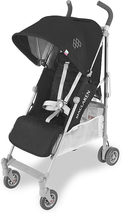 Oferta amazon: Maclaren Quest - Silla de paseo para recién nacidos hasta los 25kg, asiento multiposición, suspensión en las 4 ruedas, capota extensible con UPF 50+