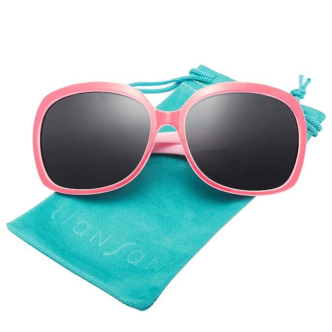 1cebb7c6 LianSan Gafas de Sol de Diseñador de Moda Para Mujer UV400 Protección  Polarizada Gafas de Sol de Gran Tamaño LSP301