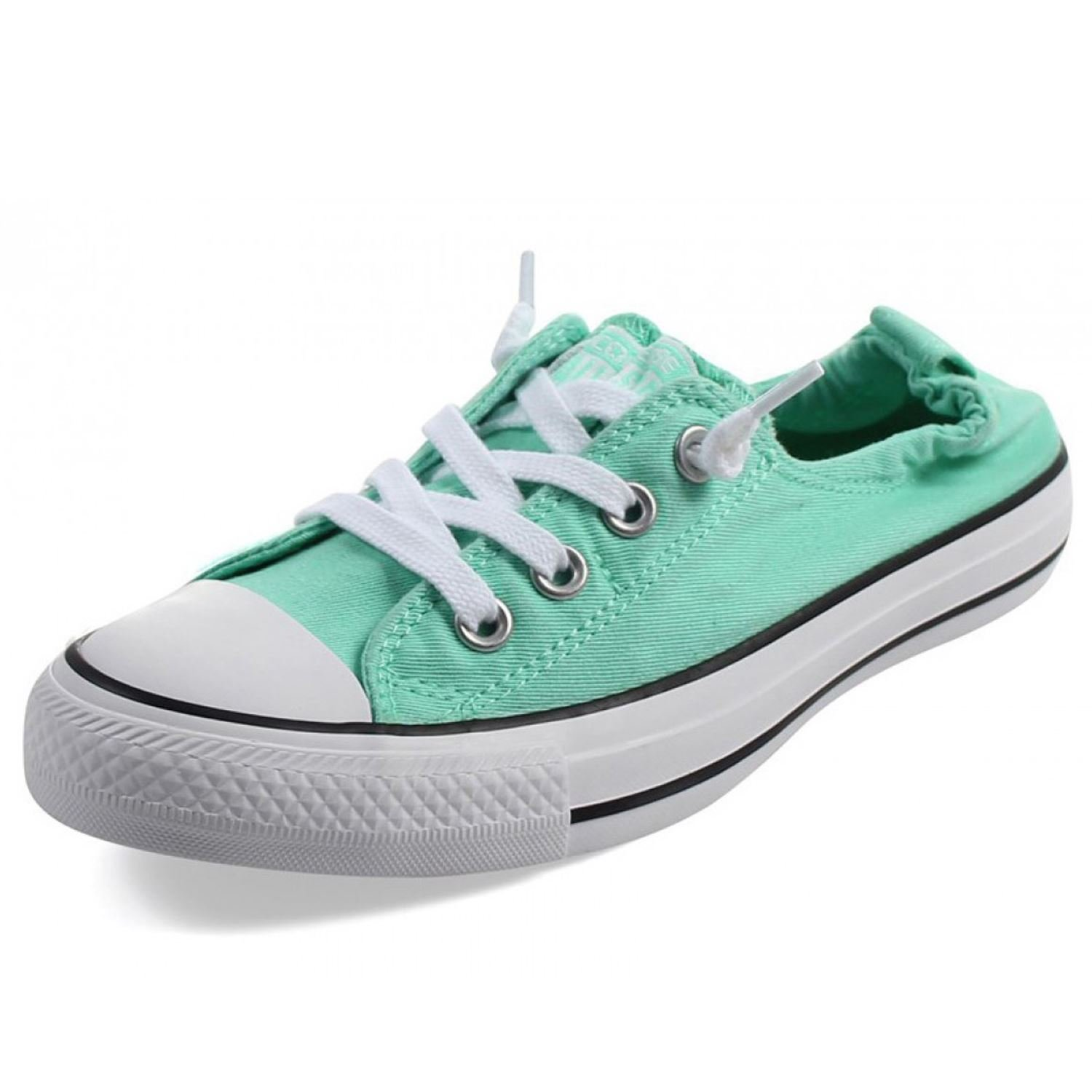 34f7b3c9489f82 Galleon - Converse Chuck Taylor All Star Shoreline Green Glow White Black  Lace-Up Sneaker - 9.5 B(M) US