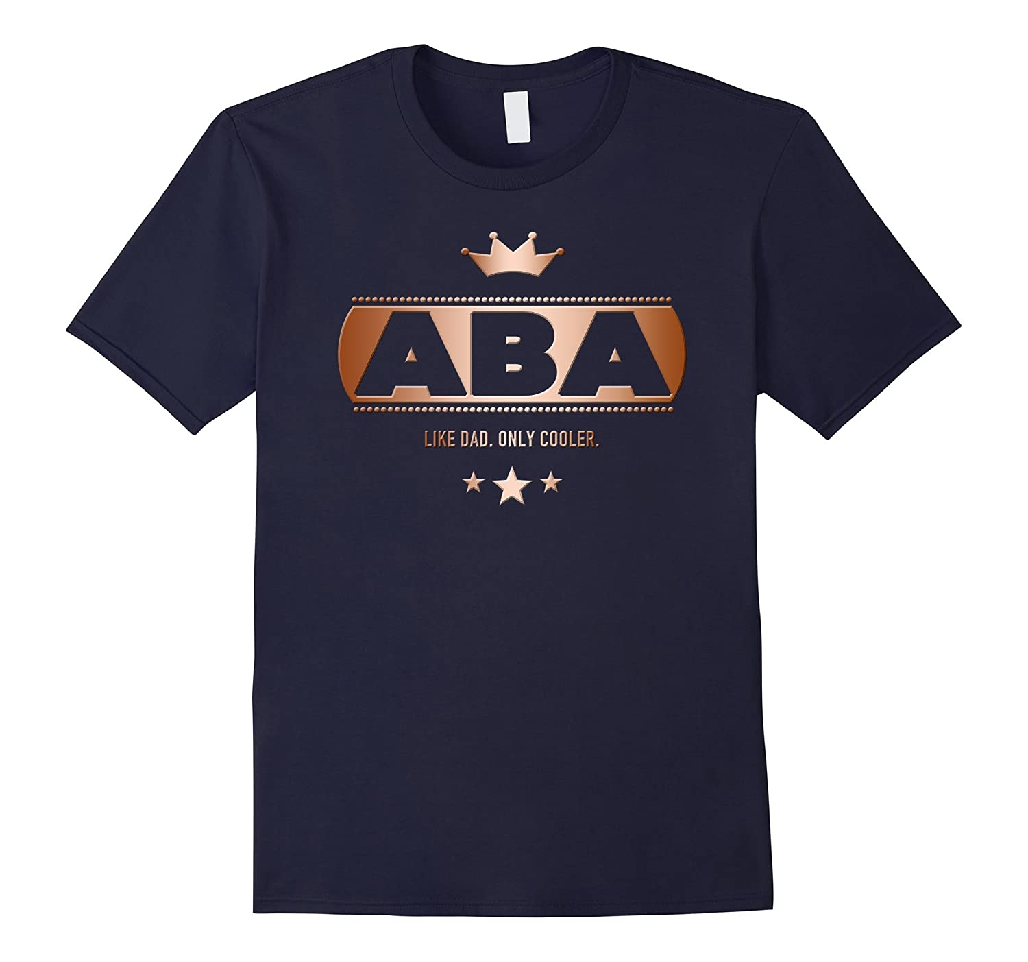 Aba Like Dad Only Cooler Tee-Shirt for a Jewish Father-TH
