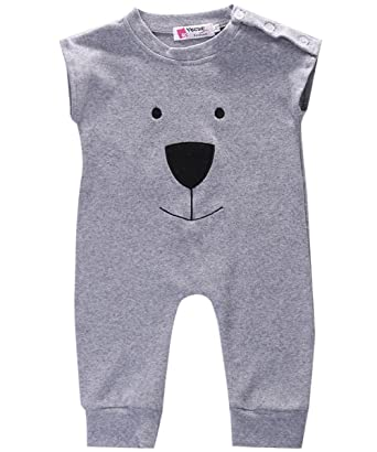 d146f2fee54e Amazon.com  Newborn Toddler Baby Girl Boy Bear Jumpers Rompers ...
