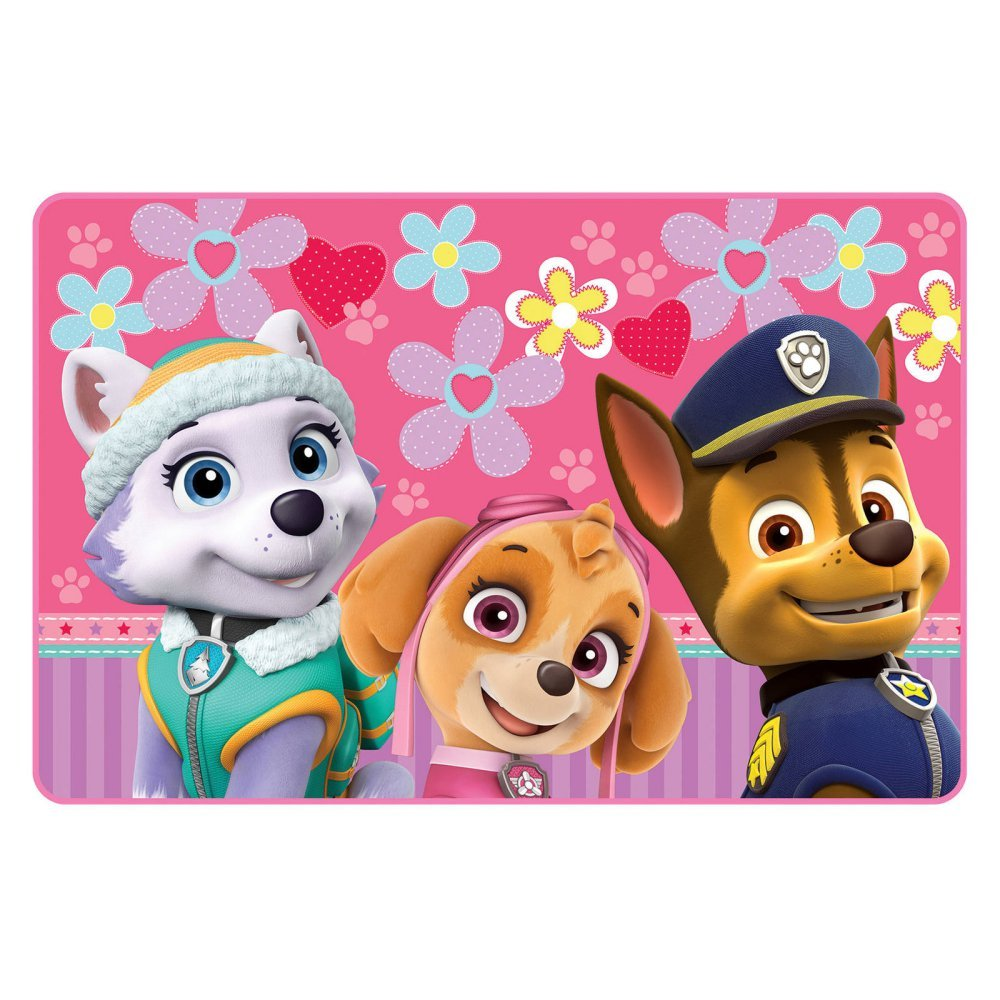 Nickelodeon Paw Patrol Girls ''Lively Pups'' Accent Rug - 30 inch x 46 inch by Paw Patrol