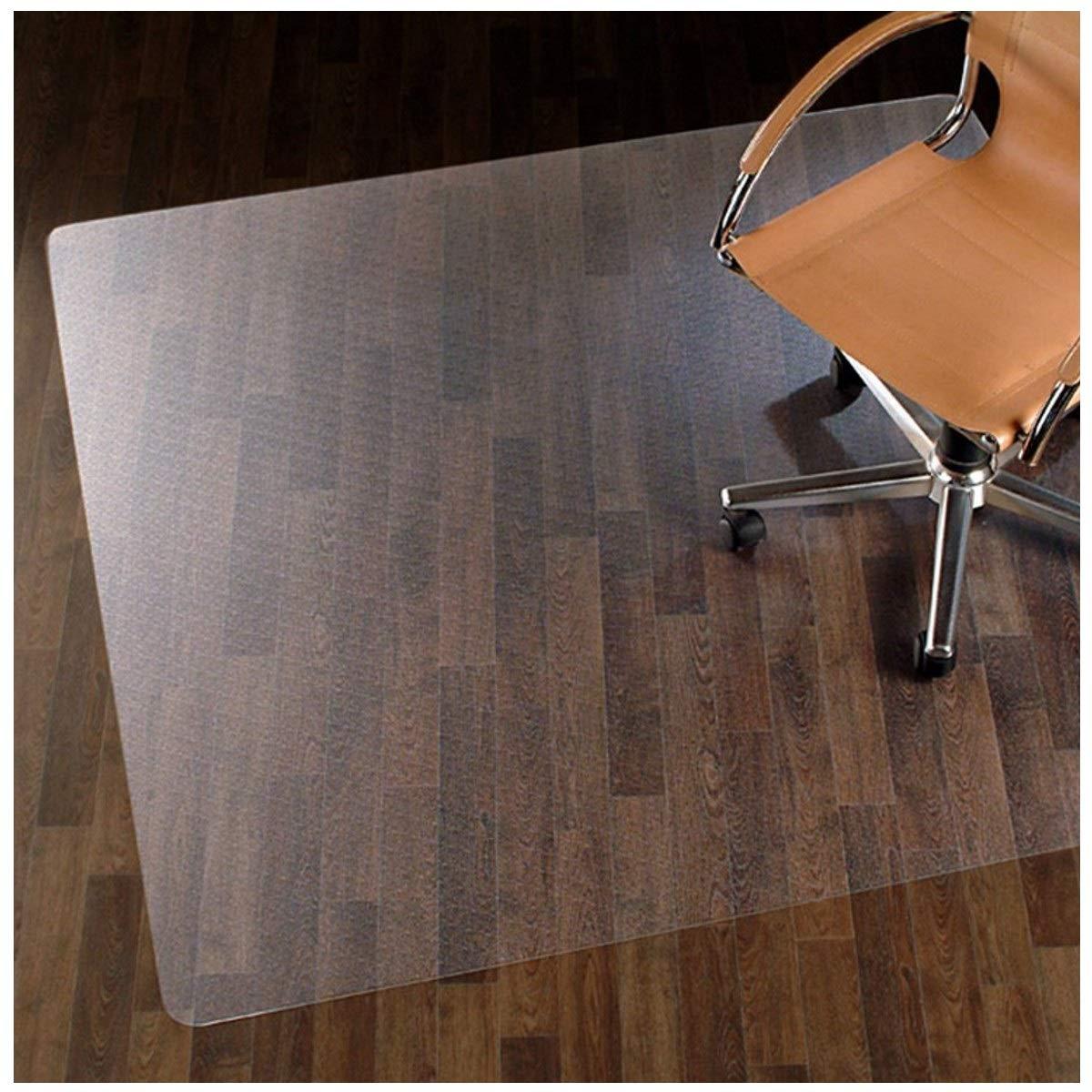 ETM, base per sedia da ufficio per pavimenti in legno, in 100% policarbonato, nessun materiale riciclato, altamente resistente, trasparente