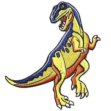 huixun gamuza de dinosaurio parches insignia Mend decorar ...