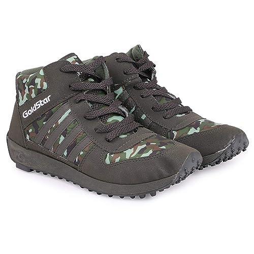 Buy GoldStar Army Running Shoes for Men