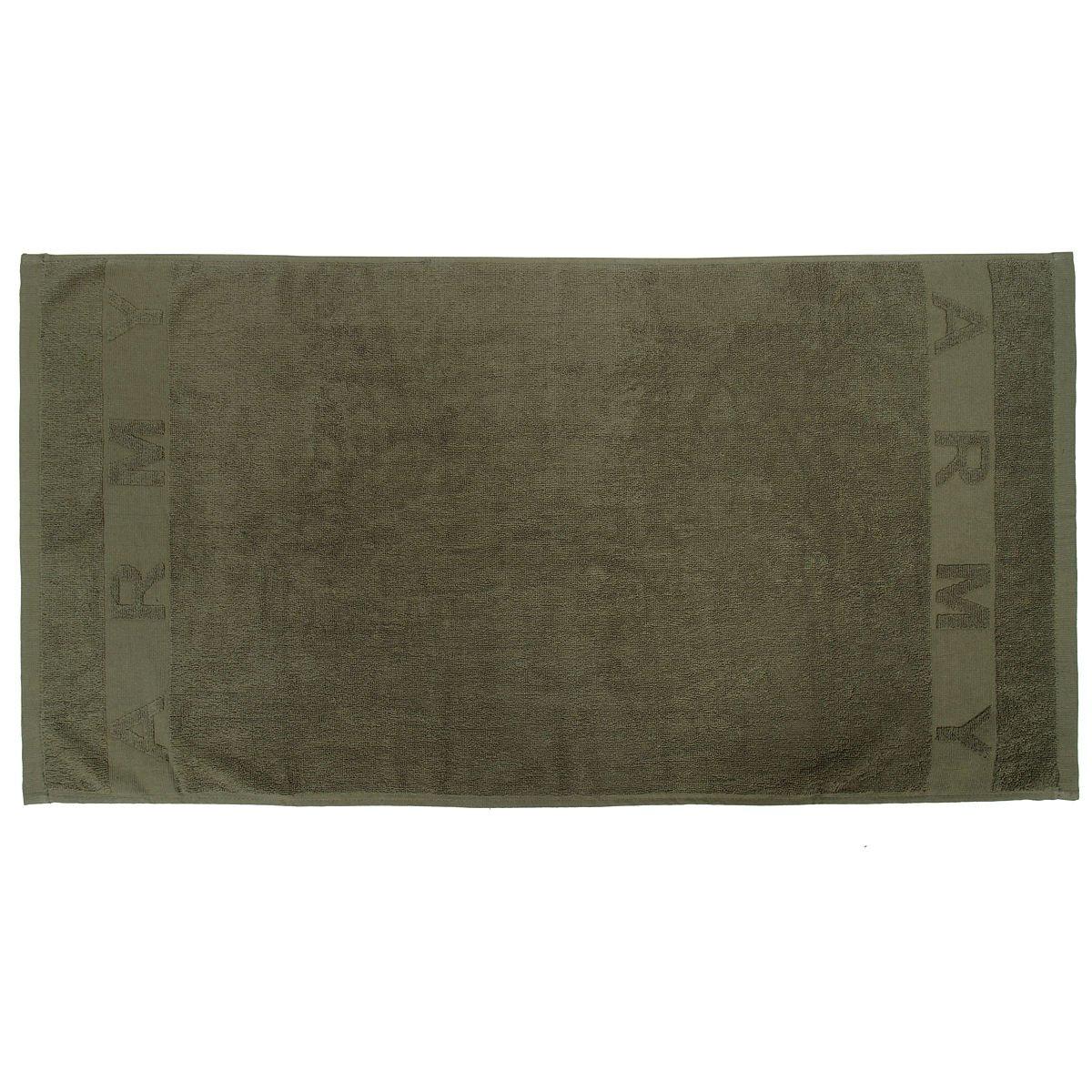 Army bambini 100/% cotone asciugamano combattimento militare verde oliva cotone terry 100/cm x 50/cm