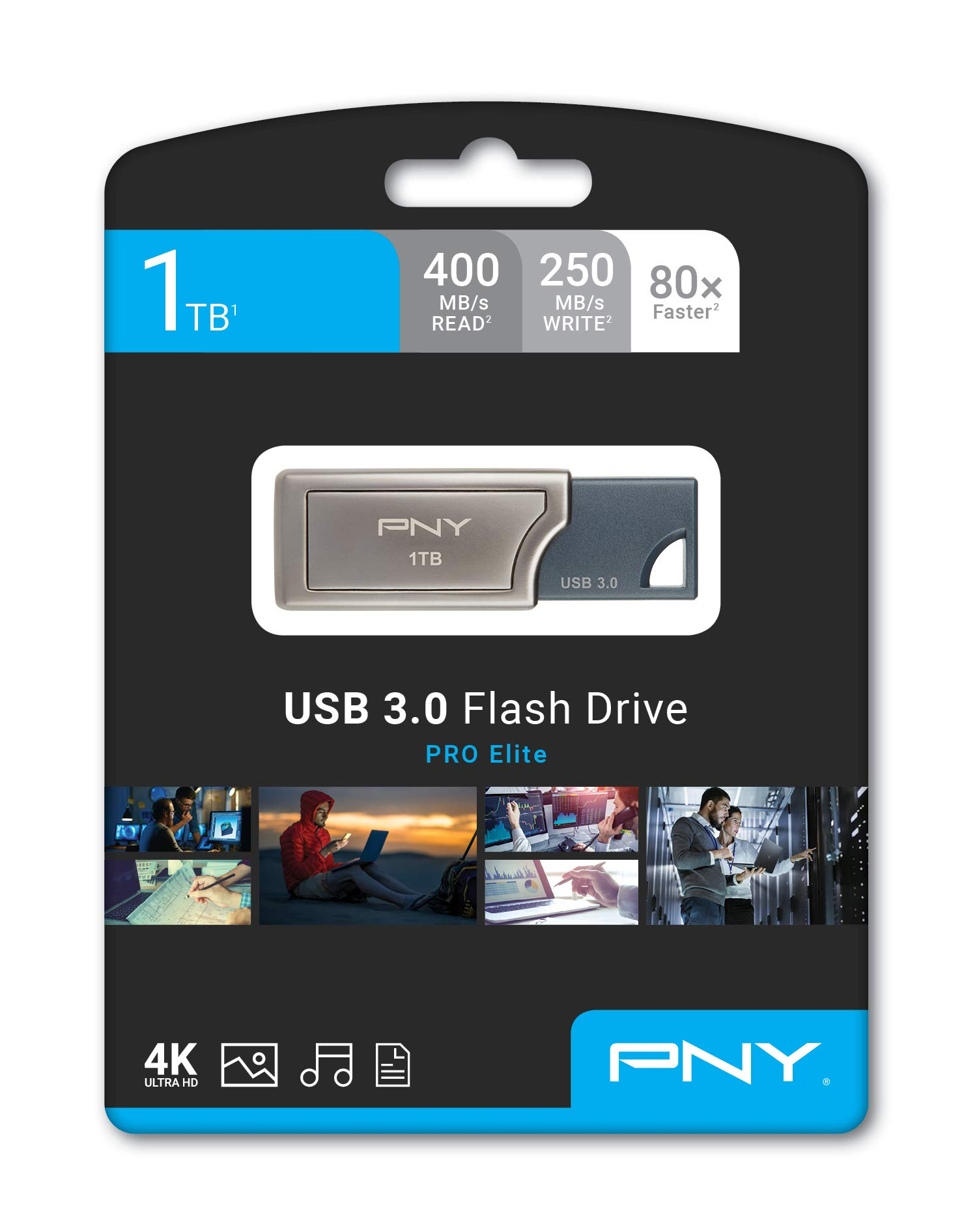 PNY Pro Elite 1TB USB 3.0 Flash Drive, Read Speeds up to 400MB/S (P-FD1TBPRO-GE) by PNY (Image #5)