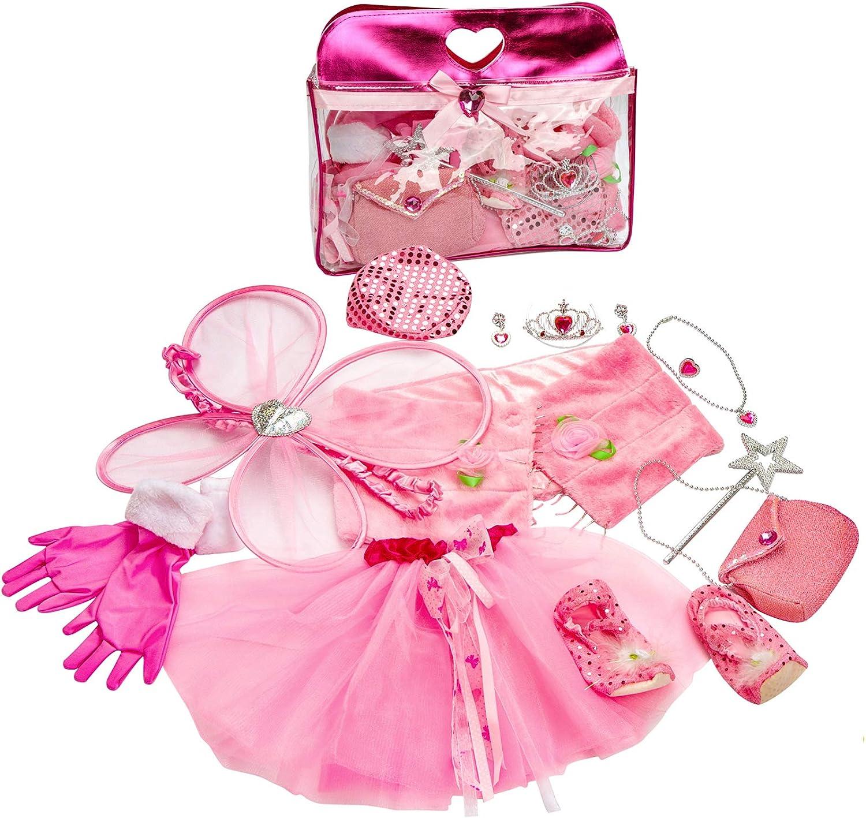 Amazon.com: Girls Princess Dress up Set