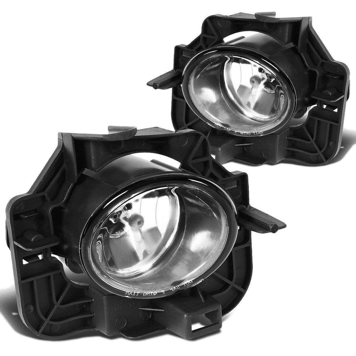 LED Fog Light Lamp For Nissan Altima Sedan 2007-2015 Clear Lens Amber Bulb PAIR