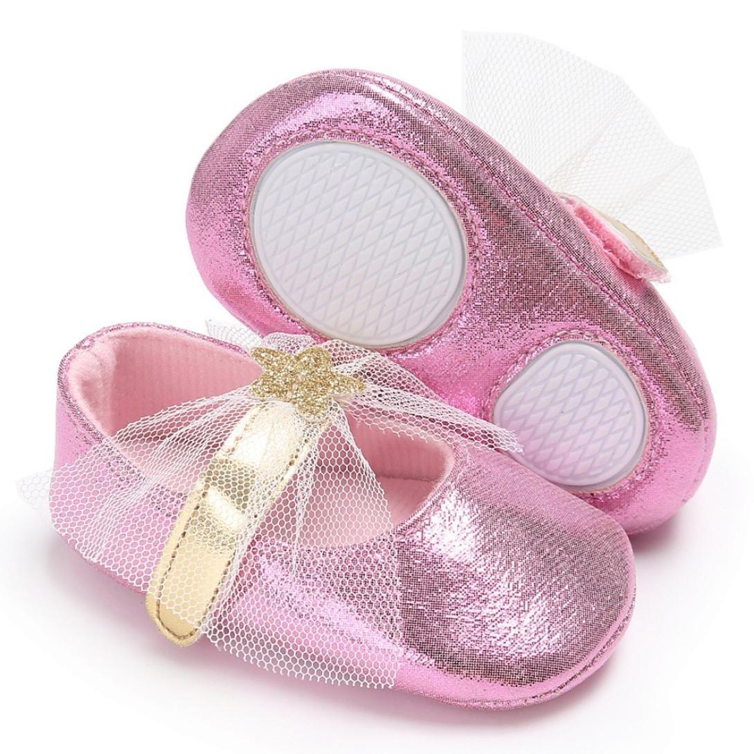 Fabal Boy Girl Soft Moccs Fringe Soft Soled Non-slip Footwear Crib Shoes