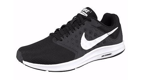 Nike Men's Downshifter 7 Running Shoes, Black (Black/White-Anthracite),