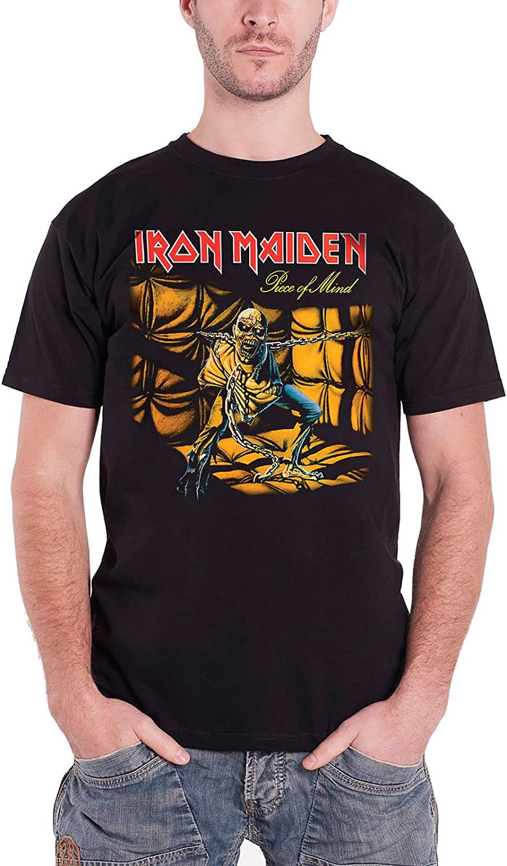Beats & More Iron Maiden-Piece of Mind AC Camiseta para Hombre: Amazon.es: Ropa y accesorios