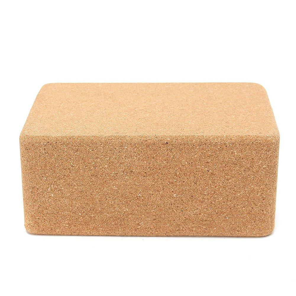 Amazon.com : Rainbow25 Cork Yoga Block Pilates Brick Home ...