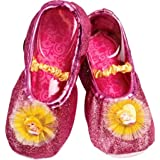 Disney Princess Aurora Toddler Slipper Shoes,Pink,One Size Fits Most