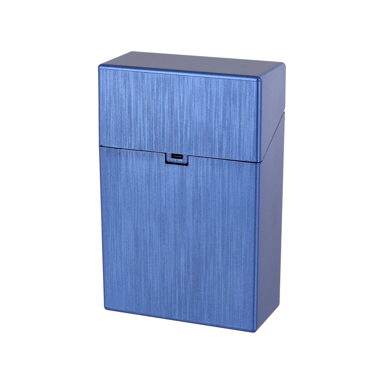 ZIGARETTENBOX für 20er / 100mm Zigarettenschachteln (blau)