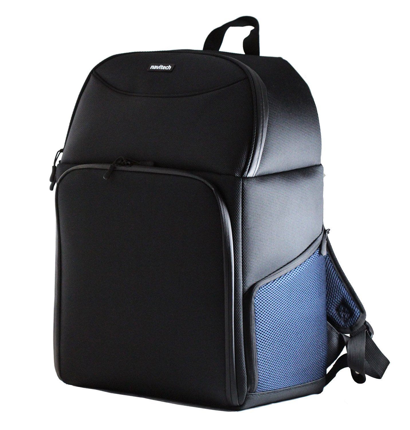 c6b36fd724a5 Navitech Rugged Black & Blue Carry Backpack / Rucksack / Case For The Canon  9596B008 PIXMA iP110
