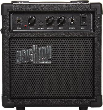 Bird GA610 Amp eléctrica Guitarra Negro: Amazon.es: Instrumentos ...