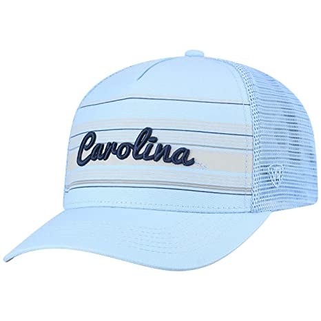 detailed look c9a77 3f207 Image Unavailable. Image not available for. Color  Top of the World North  Carolina Tar Heels Official NCAA Adjustable 2Iron Trucker Mesh Hat Cap