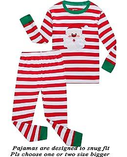 Girls Pajamas 100% Cotton Reindeer Toddler Clothes Kids Christmas Pjs  Children Sleepwear 714d340ed