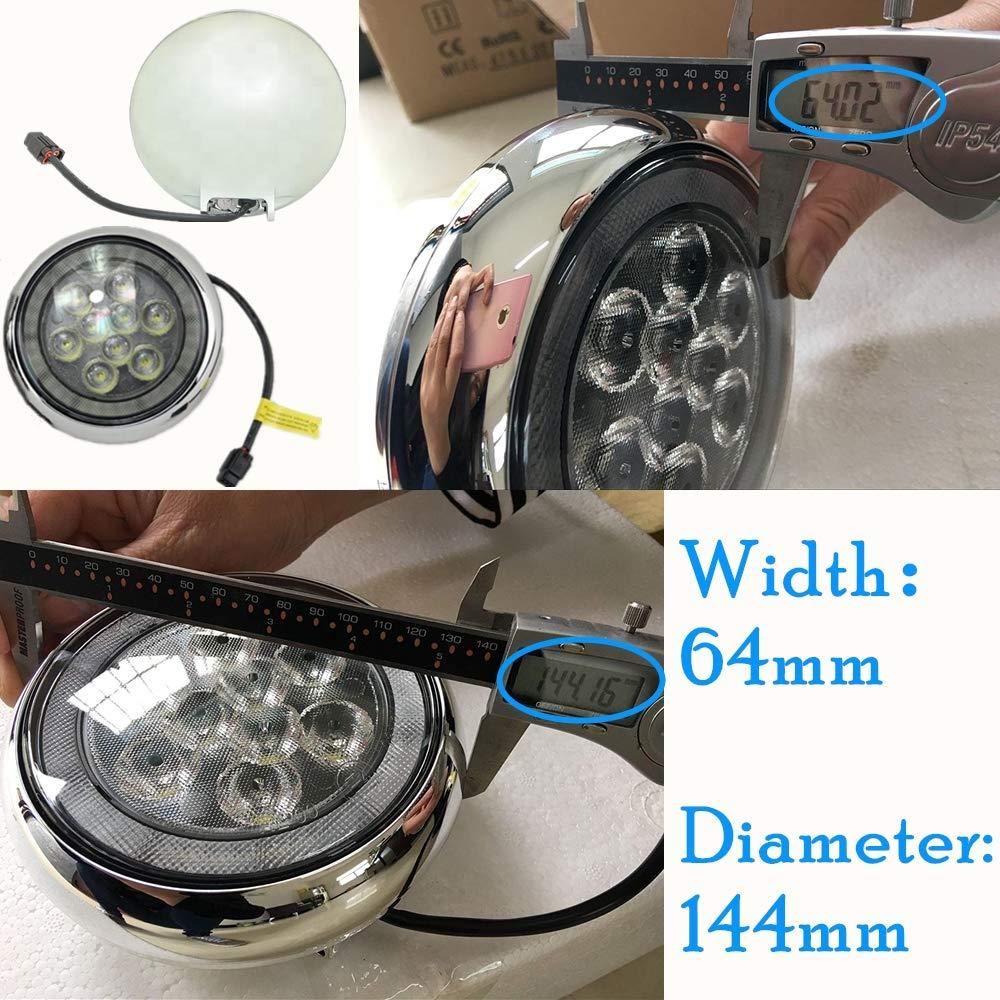 Amazon.com: Mini LED Rally DRL luz – NSLUMO 18 W de alta ...