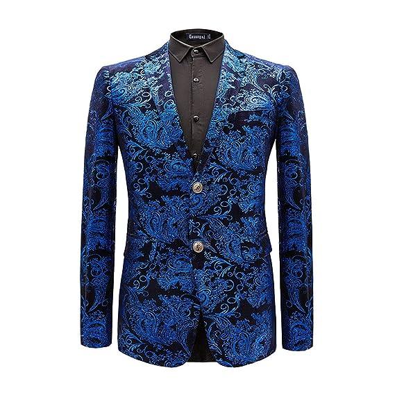 Lannister Fashion Chaqueta De Traje De Corte Slim Moderno De ...