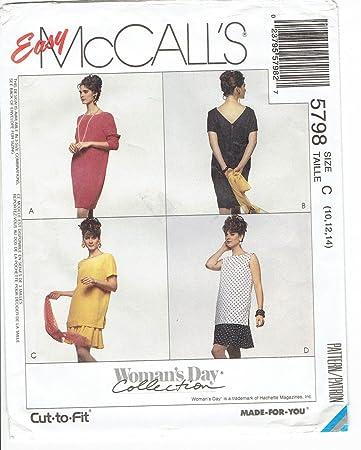M2026 McCalls Schnittmuster zum Nähen, Elegant, Extravagant, Modisch ...