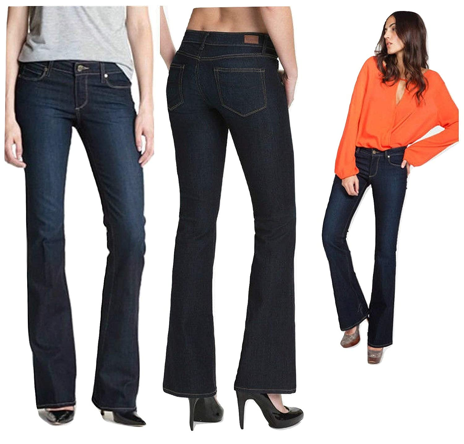 picked up details for new style Amazon.com: PAIGE Denim Skyline Bootcut Jeans Michelle Size ...
