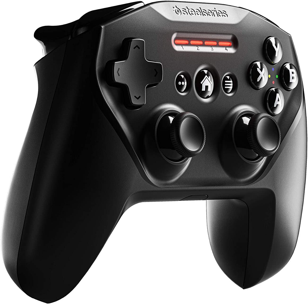 SteelSeries Nimbus+ Bluetooth Mobile Gaming Controller with iPhone Mount - 50+ Hour Battery Life - Apple-Licensed - Made for iOS, iPadOS, tvOS (69089)